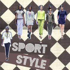 Sport style. #Sport #Trend #Fashion
