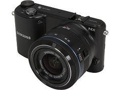 SAMSUNG EV-NX2000BABUS Black Mirrorless Digital Camera with 20-50mm f/3.5-5.6 Lens