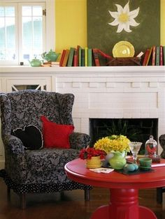 Dear Daisy Cottage-living room - eclectic - living room - other metro - Dear Daisy Cottage