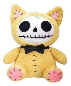 Mao Mao Cat Furry Bones Plush Stuffed Animal Doll, Small ** New and awesome product awaits you, Read it now  : Christmas Decorations