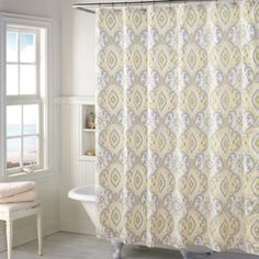 Naya Shower Curtain - BedBathandBeyond.com