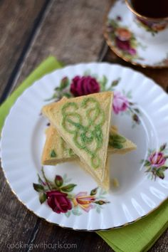 Traditional Shortbread Bigelow Tea and College - Cooking With Curls
