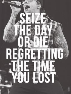 M. Shadows Quotes | ... avenged sevenfold a7x m. shadows m.shadows edits: mine seize the day