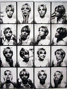 LOVE: Edie Sedgwick & Kate Moss- Facial Expressions