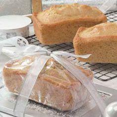Eggnog Mini Loaves