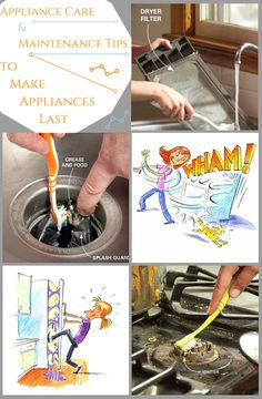 Appliance Care and Maintenance Tips to Make Appliances Last - Bad habits cost you