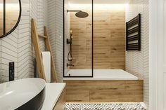 Modern, látványos burkolat ötletek fürdőszobába, szürke árnyalatok világostól sötétig, fa textúrák