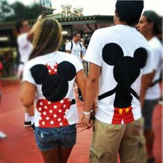 Mickey & Minnie shirt