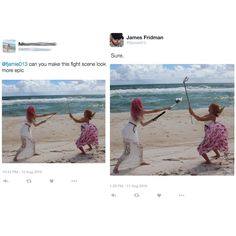 Photoshop Troll Who Takes Photo Requests Too Literally Strikes Again New Pics) Funny Memes, Hilarious, Jokes, Funny Gifs, Videos Funny, Troll, New Pictures, Funny Pictures, Funny Photoshop Fails