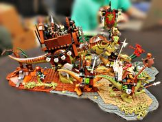 LEGO MOC of the Week - Creataceous Convoy by Hugo Rschp