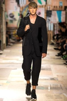 Y-3 Spring 2015 Menswear Collection - Vogue