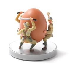 Soldier Egg Cup reminds me of the Cary Grant Gunga Din - good movie.