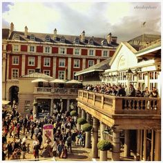 Covent Garden Market in London Great place to shop, grab a bite to eat, and watch street entertainers