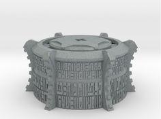 Bionicle mask pedestal, small version by Cezium97 on DeviantArt