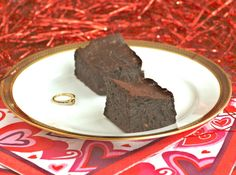 "*Just in case there's any doubt, I meant that in the sense of, ""These brownies will make him/her/you declare, ""Marry Me!"" and not in the sense of, ""You will want to marry these brownies""--though weirder things have happened.  [What's that I see beside these ..."