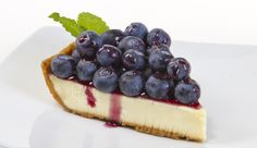 Fresh From Florida Blueberry Cheesecake. Who wouldn't love a recipe for a fantastic cheesecake that is easy to make and is topped with Fresh Florida blueberries? Easy Blueberry Cheesecake Recipe, Blueberry Trifle, Cheesecake Desserts, Blueberry Recipes, Dessert Recipes, Blueberry Sauce, Blueberry Breakfast, Pie Recipes, Dessert Ideas