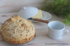 Pan de trigo con semillas de girasol en molde con tapadera (Amasado a mano y Thermomix)