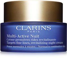 Clarins Multi-Active Night Cream new design for Spring 2016