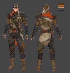 ArtStation - character design , ji yeun KIm