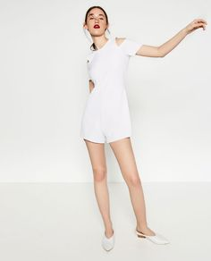Image 1 of SHORT JUMPSUIT from Zara