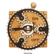 Toggle Switch Plate--Planet Gear