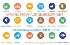 Celilcan web tasarımın bir hizmeti olan seo analizi infografiği  http://www.celilcan.com/seo/seo-analiz-ucreti/