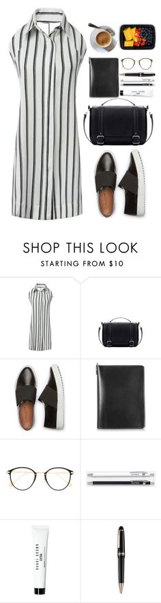 """Out on the go"" by mycherryblossom ❤ liked on Polyvore featuring Pineider, Frency & Mercury, Unison, Bobbi Brown Cosmetics, Montblanc and FoodSaver"