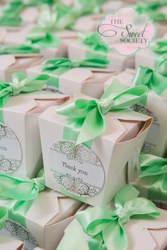 Candy boxes, gift to guest, thank you, elegant wedding candy buffet