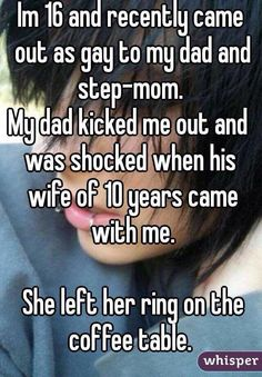Aww that's sweet. D***head dad, but the stepmum is awesome
