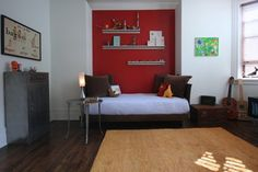 pop of color in niche  Catlin Stothers Design's Design, Pictures, Remodel, Decor and Ideas - page 2