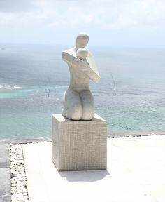 Modern Stone Sculpture | Home » Large Garden Sculptures - Loved One Modern Art Stone Statue