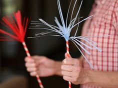 DIY: Fourth of July Paper Sparklers