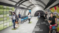 #London's Newest #Bike Lanes Could Be #Underground In Abandoned Tube Tunnels | Co.Exist | ideas + impact
