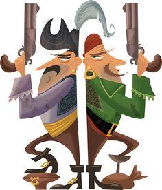 Pirates/Fleurus.TopDoc. by Gerald Guerlais, via Behance