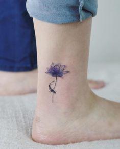 Lotus Tattoo by Tattooist Flower