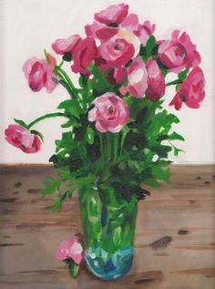 Flowers by Tali Yalonetzki on Artfully Walls