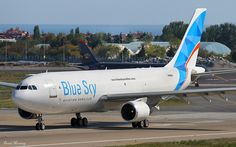 Blue Sky Aviation Services A300F freighter N788UK - photo: Donal Morrissey | Flickr - Photo Sharing!