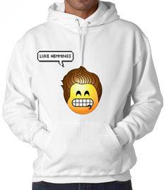 Luke Hemmings 5SOS Emoji Hooded Sweatshirt