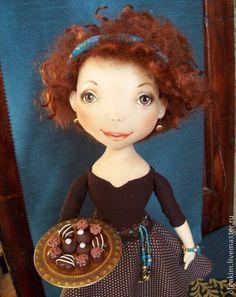 Коллекционные куклы ручной работы. Ярмарка Мастеров - ручная работа Виенн. Handmade.