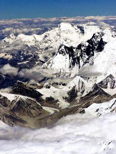 Himalaya visto desde el aire, 2006. Foto Ignat