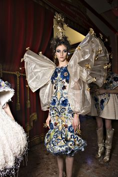 GUO PEI Spring/Summer 2018 Couture -Backstage