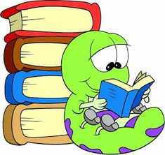 readng worm Coloring Pages - Bing images School Days, Back To School, Bored Kids, School Murals, Kids Background, School Clipart, School Decorations, Cartoon Pics, Paper Piecing