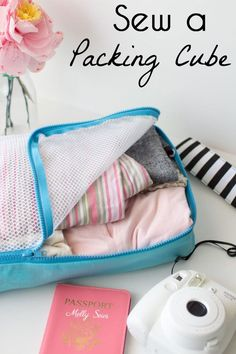 Hey y'all, today I'm sharing how to sew and use packing cubes. Packing cubes… Hey y'all, today I'm sharing how to sew and use packing cubes. Packing cubes are a recent discovery of mine. And you might be a skeptic… Continue Reading → Sewing Hacks, Sewing Tutorials, Sewing Tips, Sewing Ideas, Makeup Bag Tutorials, Tutorial Sewing, Pouch Tutorial, Dress Tutorials, Sewing Basics