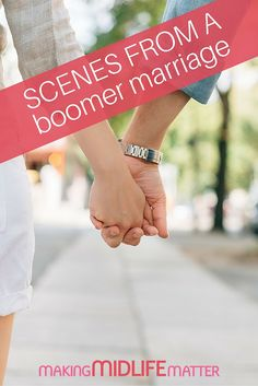 Anyone who's in a live-in relationship surely has them—those slices of life that reveal what day-to-day cohabitation is really like in a boomer marriage.