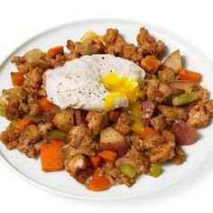 Farmhouse Hash With Pot-Poached Eggs #brunch #breakfast #MothersDay