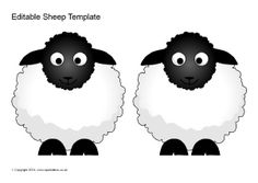 Printable Sheep Template | Jos Gandos Coloring Pages For ...
