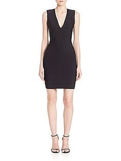BCBGMAXAZRIA Oralie Body-Con Dress - Black