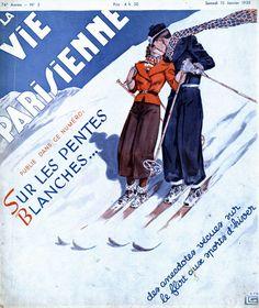 Georges Léonnec (1881 – 1940). La Vie Parisienne, 15 Janvier 1938. [Pinned 23-vii-2015]