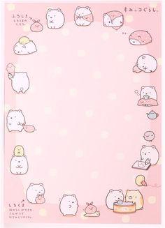 colorful Sumikkogurashi animals in corner Note Pad - Memo Pads - Stationery - kawaii shop modeS4u