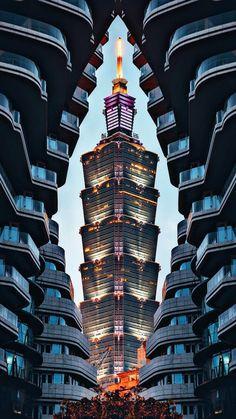 Baroque Architecture, Architecture Design, Taipei Travel, Taipei 101, Catalogue Design, Ck Jeans, Tower Design, City Wallpaper, A Whole New World